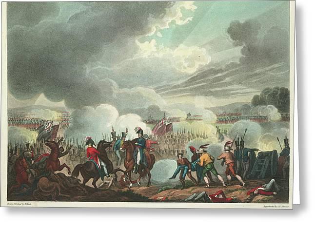 Battle Of Talavera Greeting Card