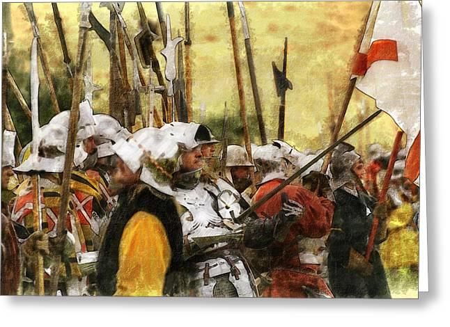 Battle Of Tewkesbury Greeting Card