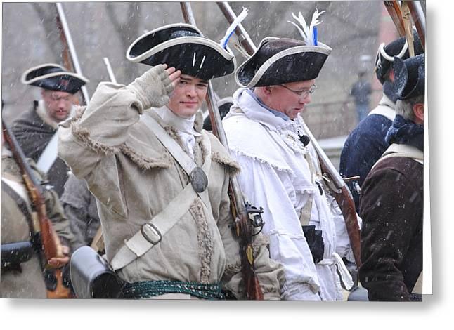Battle Of Trenton Greeting Card