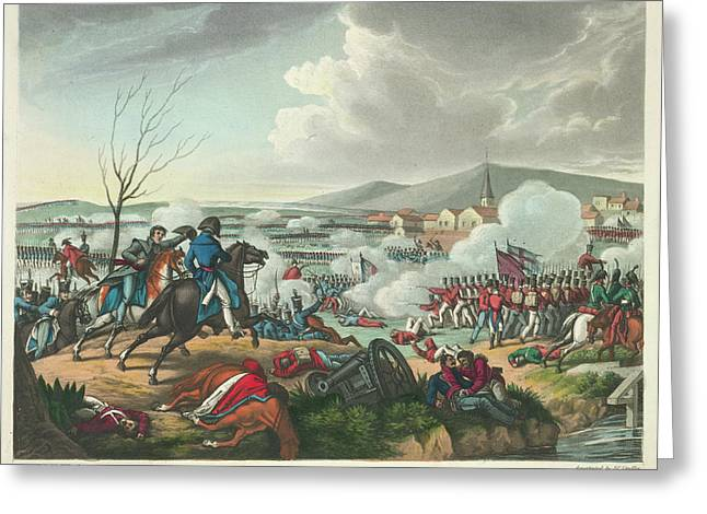 Battle Of Vimeira Greeting Card