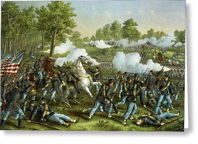 Battle Of Wilson Creek Greeting Card