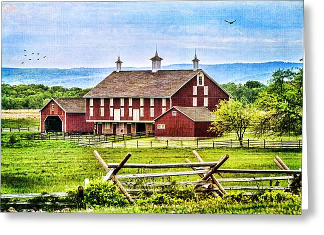 Battlefield Barn Greeting Card