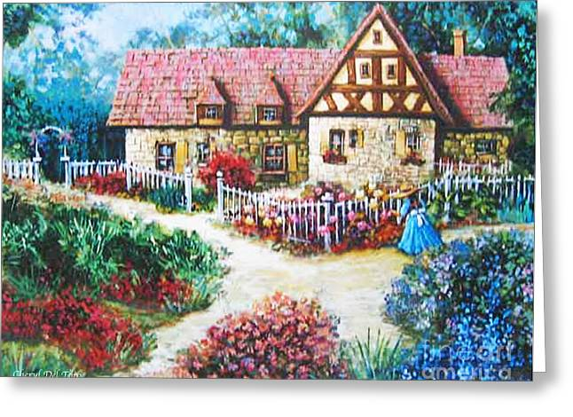 Bavarian Cottage Greeting Card