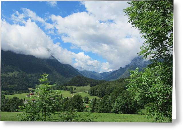 Bavarian Countryside Greeting Card