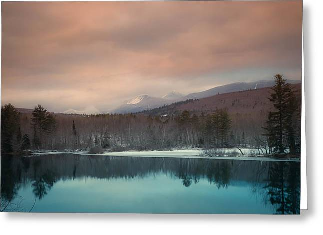 Baxter State Park Maine  Greeting Card