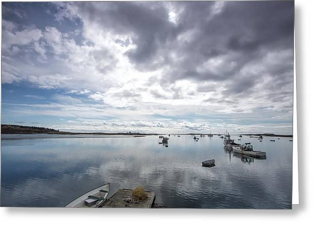 Bay Area Boats II Greeting Card by Jon Glaser