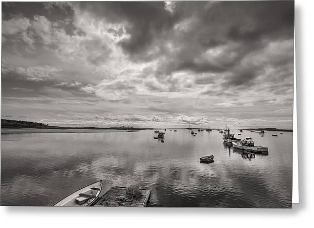 Bay Area Boats Greeting Card by Jon Glaser