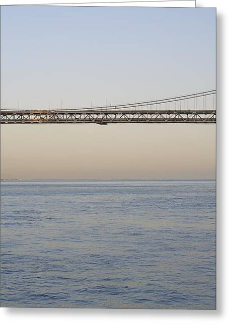 Bay Bridge Greeting Card