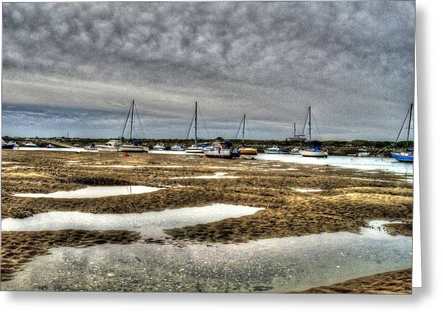 Bay Force Greeting Card by Doc Braham