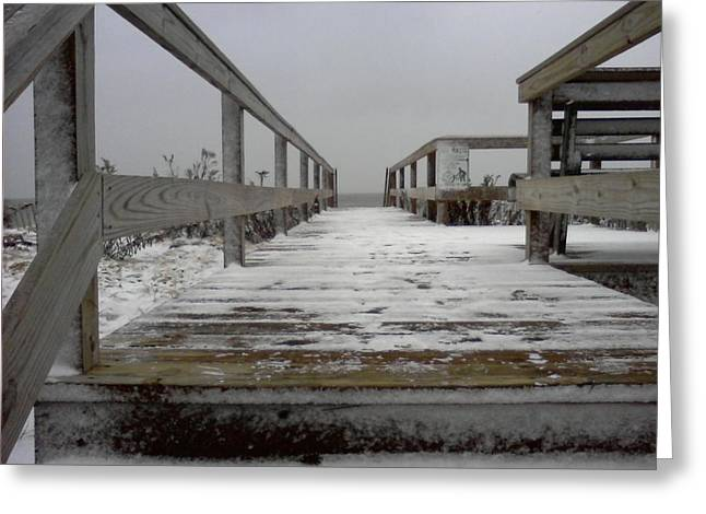 Bay Head Nj Greeting Card by Vincent DeLucia