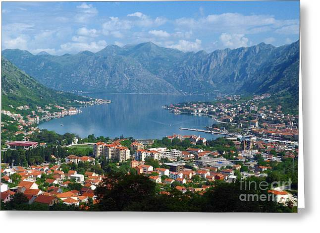 Bay Of Kotor - Montenegro Greeting Card
