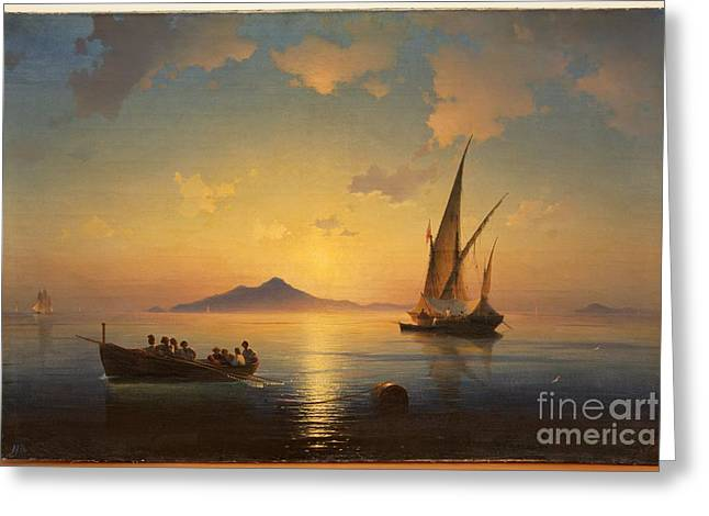 Bay Of Naples Greeting Card