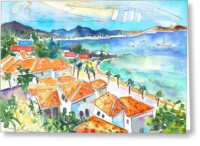 Bay Of Saint Martin Greeting Card