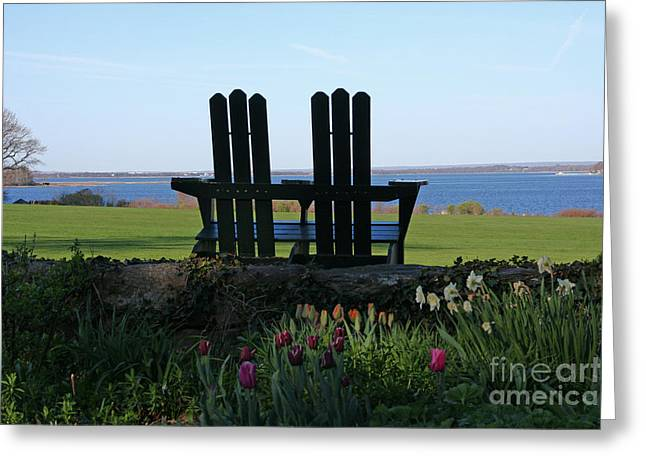 Bay View Greeting Card by Butch Lombardi
