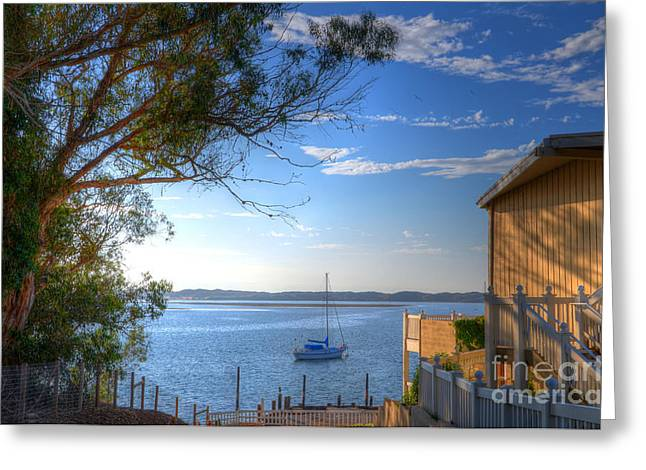 Bay View Day Greeting Card