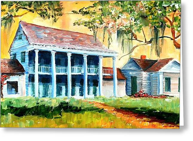 Bayou Country Greeting Card by Diane Millsap