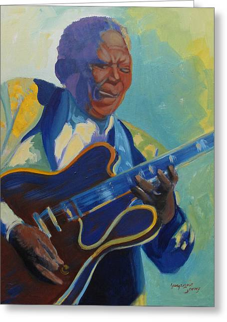 Bb King Greeting Card