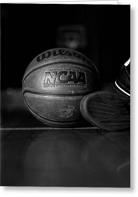 Bball Greeting Card by Molly Picklesimer