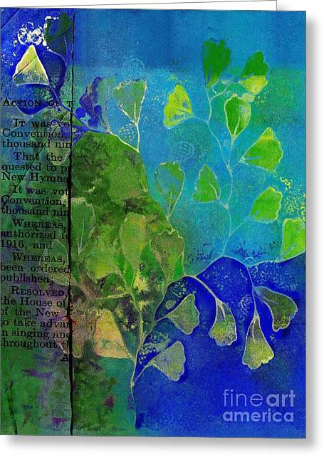 Be-leaf - J76073176b1b Greeting Card by Variance Collections