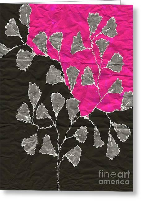 Be-leaf - Pink 03-01at4 Greeting Card