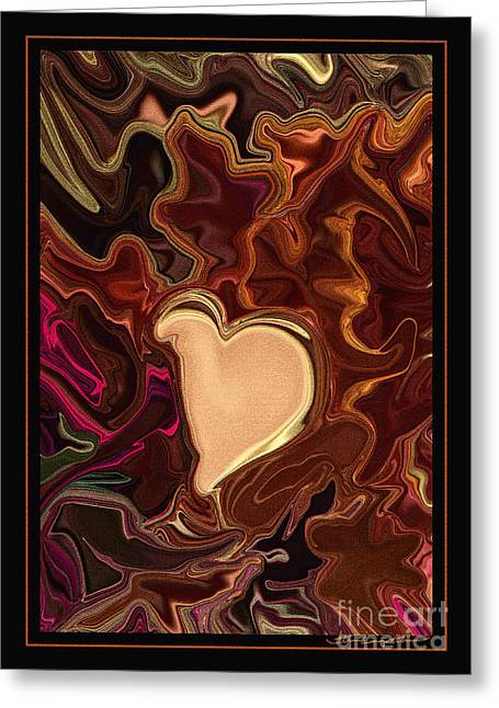 Be Mine By Steven Langston Greeting Card by Steven Lebron Langston