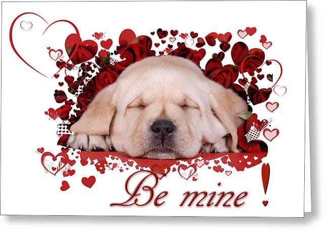 Be Mine Greeting Card by Waldek Dabrowski