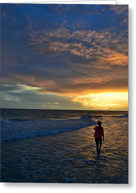 Greeting Card featuring the photograph Be Wonderful... Because You Are by Melanie Moraga