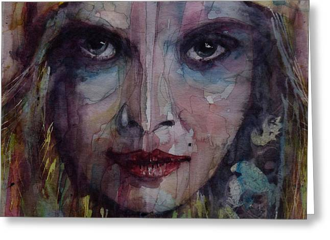 Be Young Be Foolish Be Happy Greeting Card by Paul Lovering