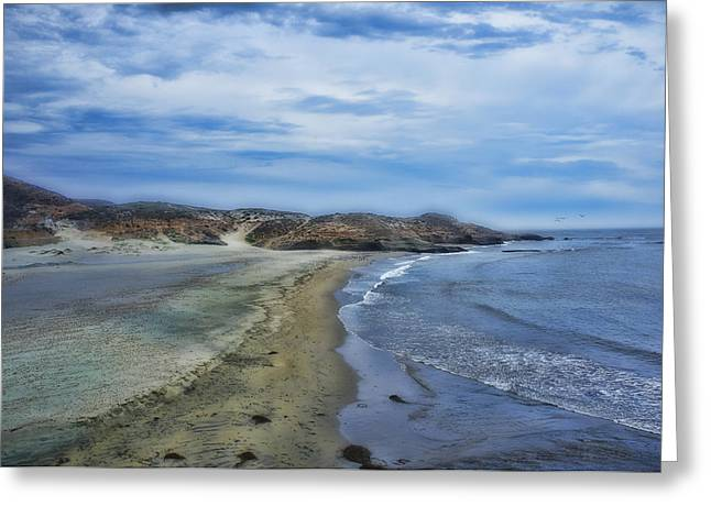 Beach At Punta China Greeting Card by Hugh Smith