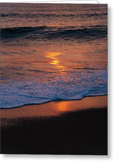 Beach At Sunrise, Nha Trang, Vietnam Greeting Card