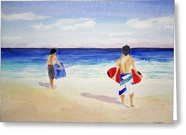 Beach Boys Australia Greeting Card