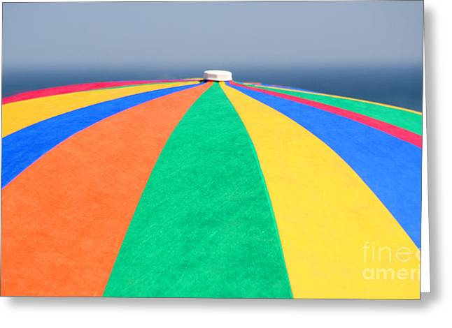 Greeting Card featuring the photograph Beach Day by Adrian LaRoque