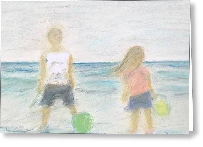 Beach Dreams Greeting Card by E Carrington