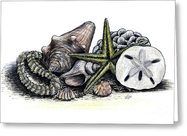 Beach Finds Greeting Card