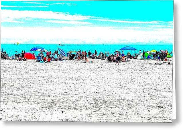 Beach Fun 1 Greeting Card