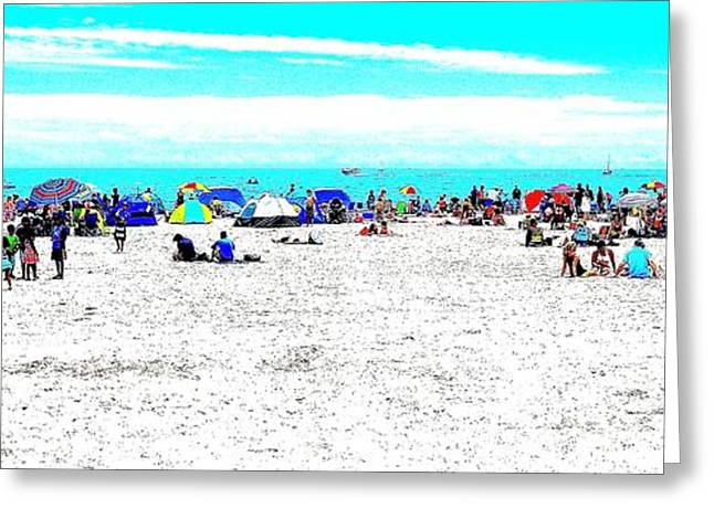 Beach Fun 2 Greeting Card
