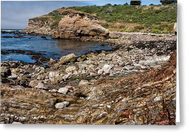 Beach Geology Greeting Card