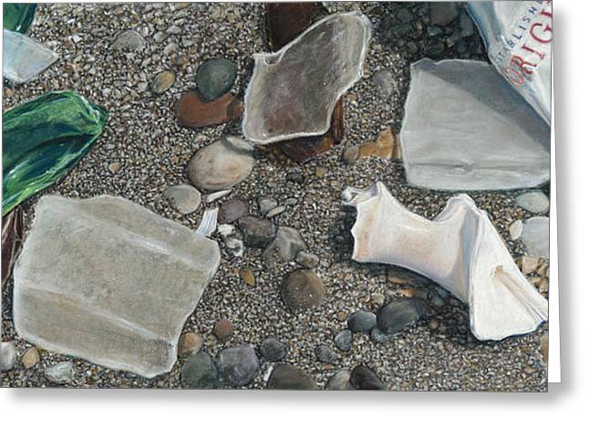 Beach Glass Greeting Card
