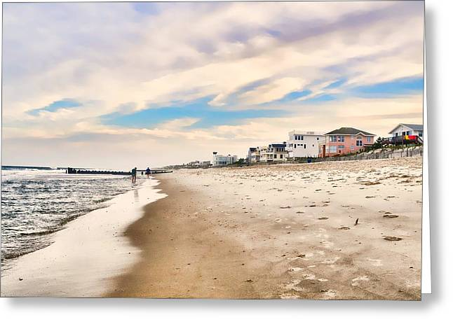 Beach Haven Greeting Card by Diana Angstadt