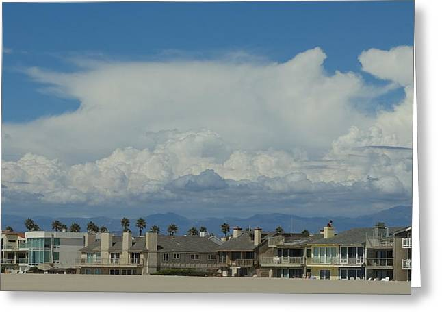 Beach House 1 Greeting Card by Jonathon Hernandez