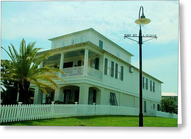 Beach House - Bay Saint Louis Mississippi Greeting Card