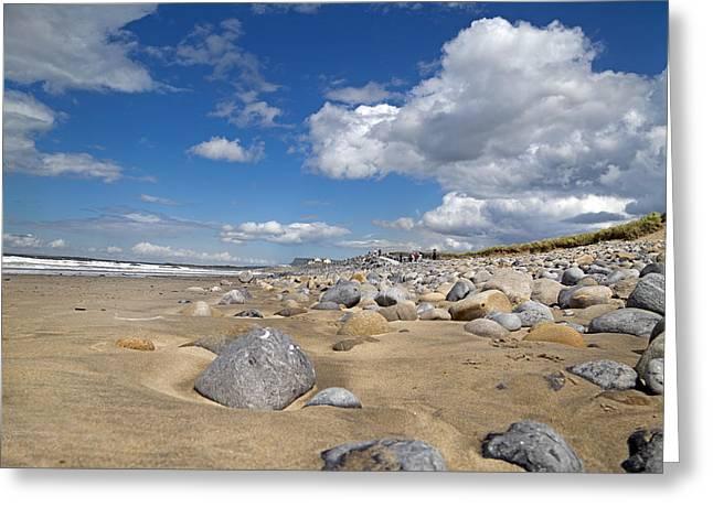 Beach -- Sligo -- Ireland Greeting Card by Betsy Knapp