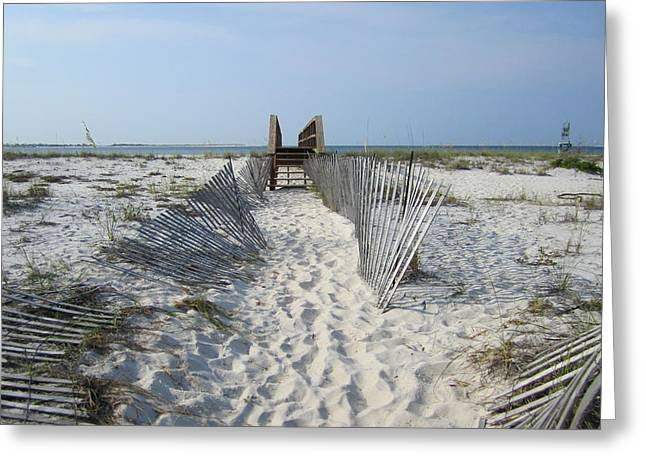 Greeting Card featuring the photograph Beach by Jon Emery