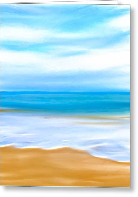 Beach Memories Greeting Card by Mark E Tisdale