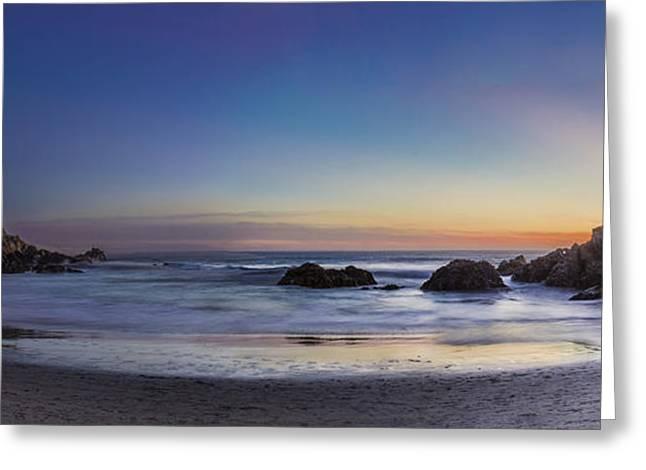 Beach Oasis Greeting Card by Jeremy Jensen