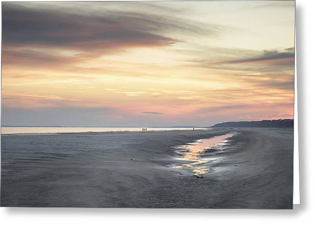 Beach Panorama Greeting Card