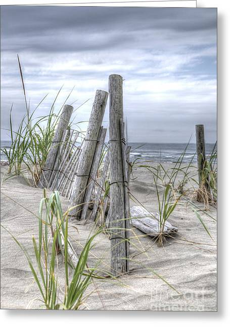 Beach Path Greeting Card