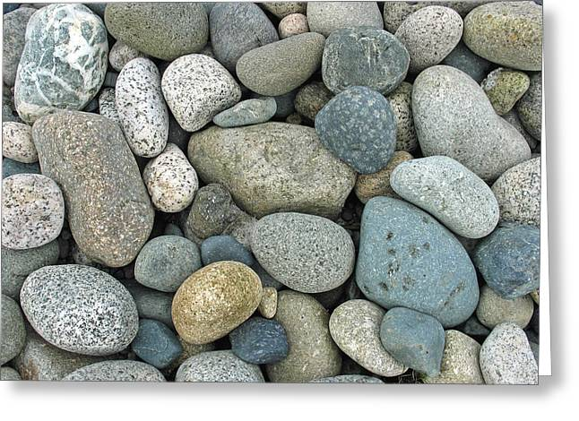 Beach Pebbles Greeting Card