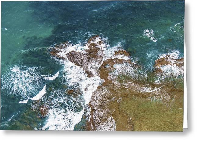 Beach, Rishon Lezion Greeting Card