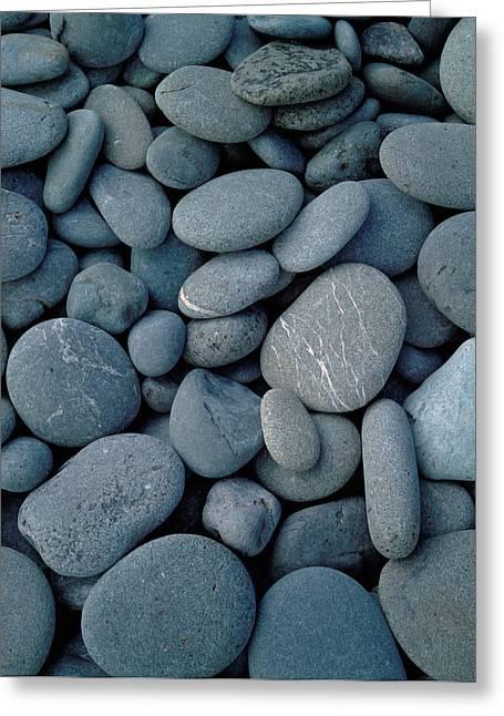Beach Rocks On Rialto Beach, Olympic Greeting Card